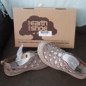Kalso earth shoes 8 innovate 3 taupe leather NEW